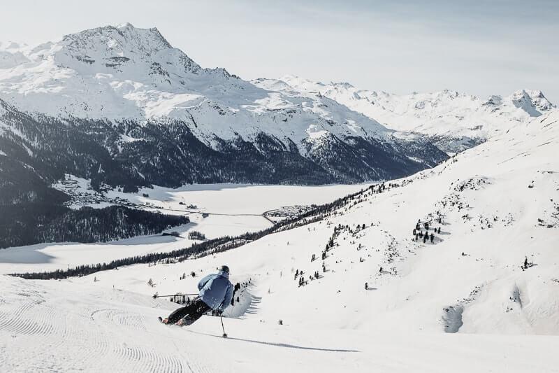 Domaine skiable de Corviglia