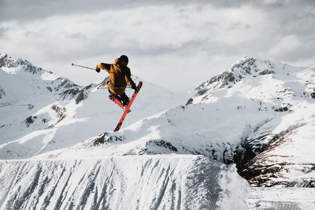 Freestyle au Jakobshorn de Davos