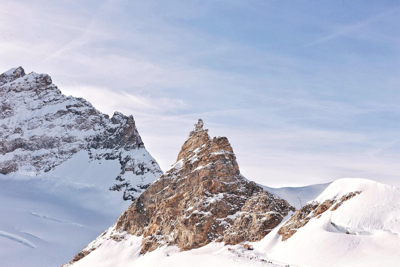 Jungfrau peak