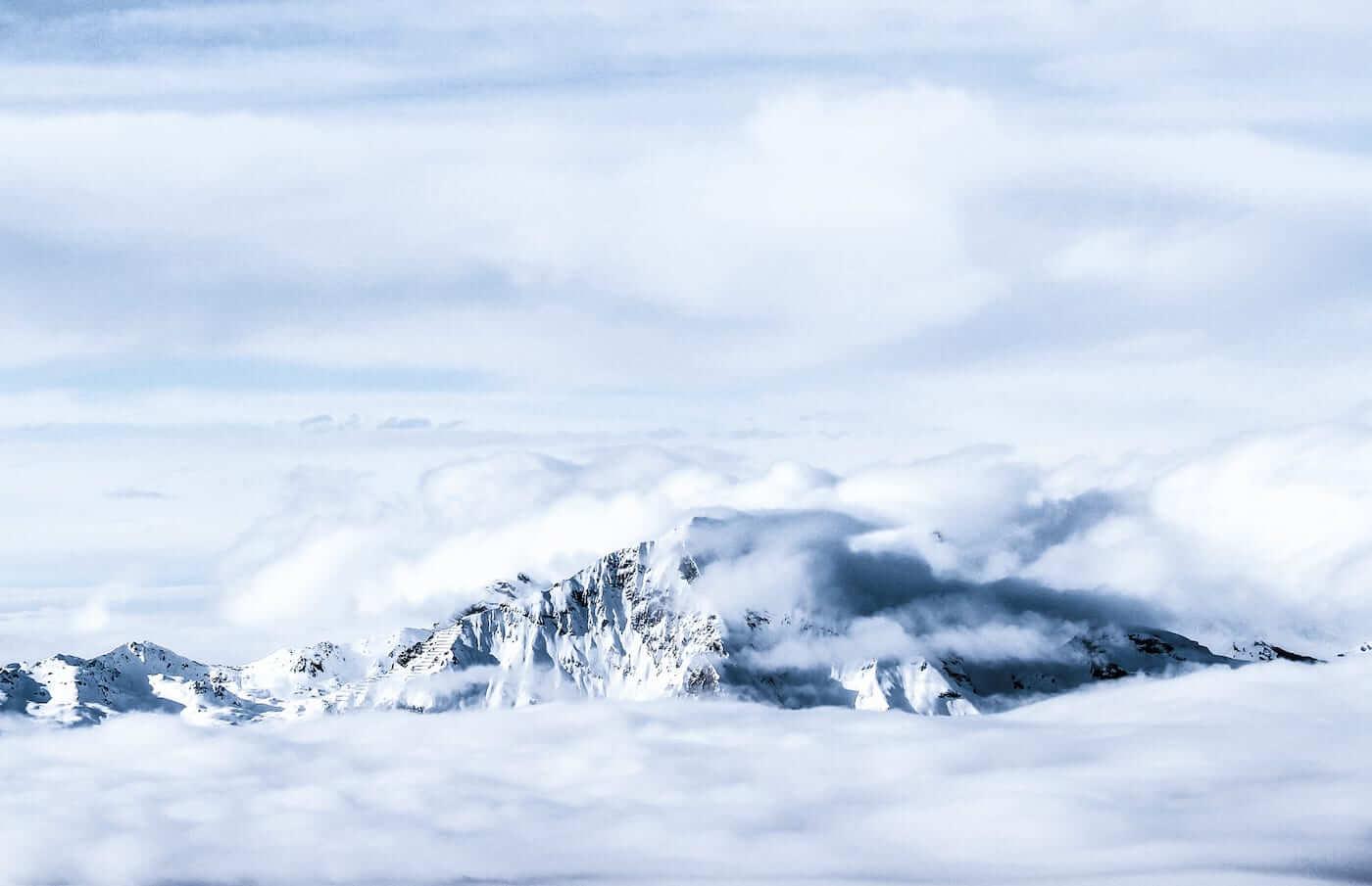 Mountains in Haute-Nendaz (4 Vallées)