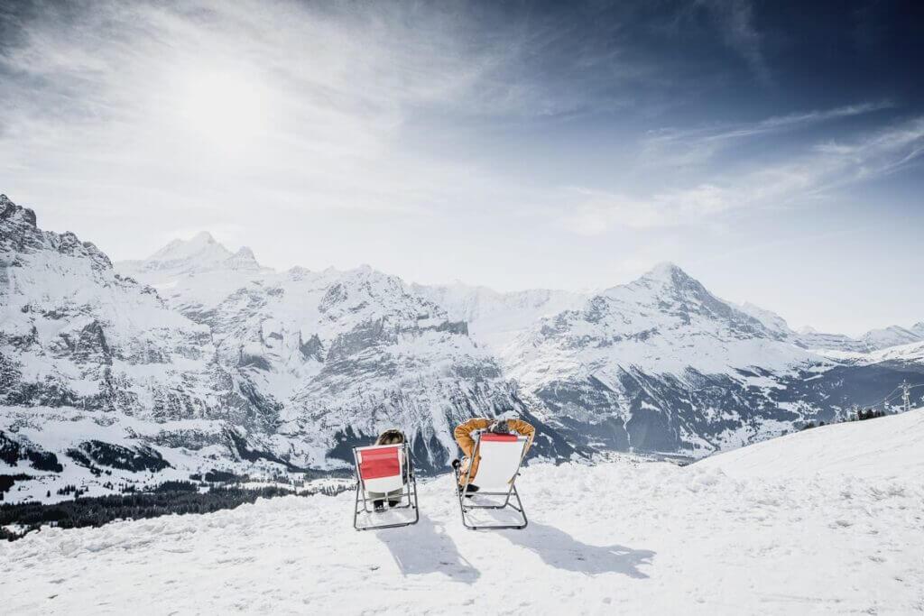 Vue depuis Grindelwald-First