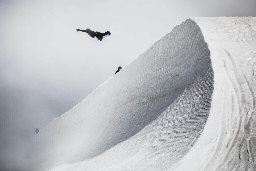 Snowpark à Saas-Fee