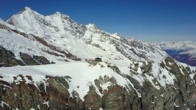 Vue sur Mittelalalin Saas-Fee