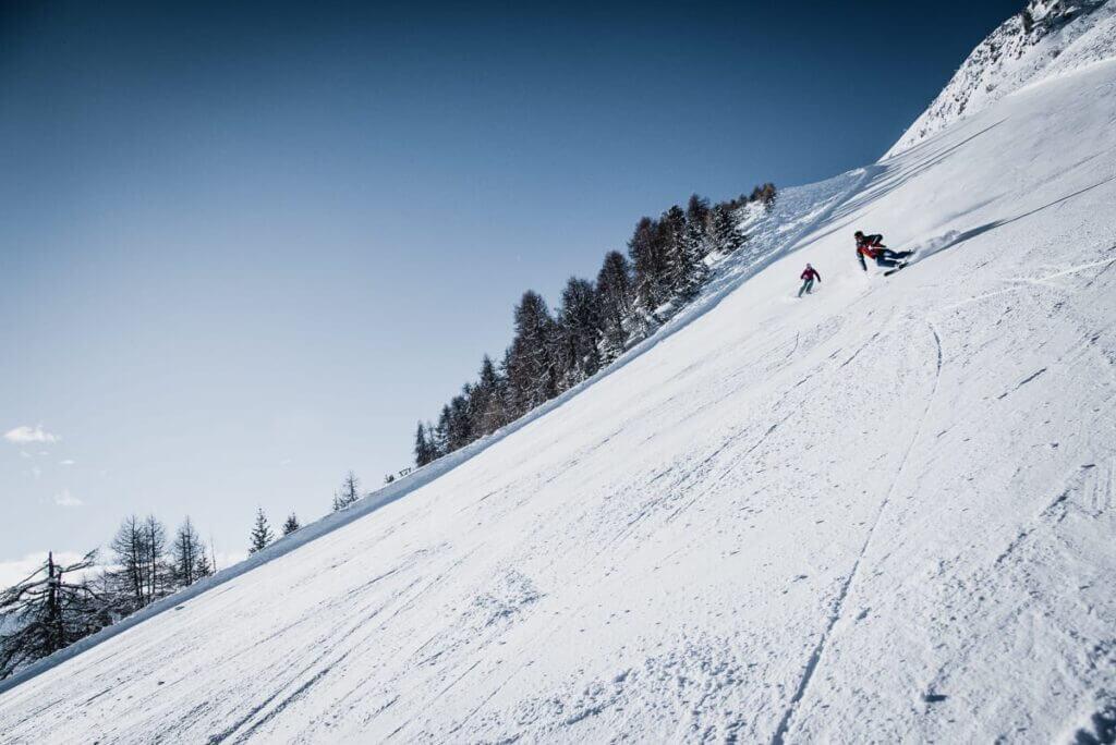 Pistes de ski à Nendaz
